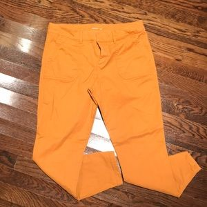 Old navy Pixie Chino-Gold